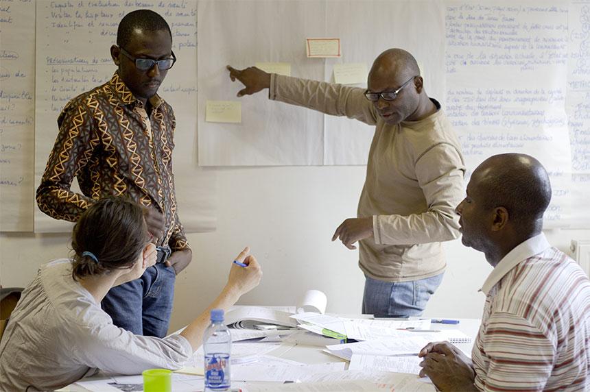 Les Logisticiens Bioforce s'enrichissent de compétences pour la solidarité nationale