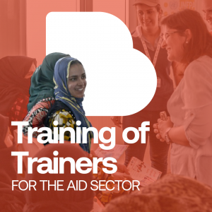 Training of Trainers for the aid sector