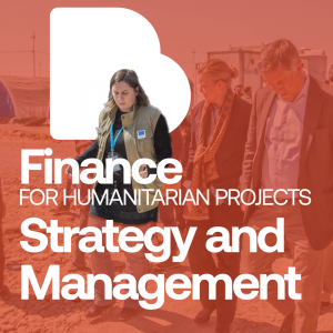 Finance for humanitarian projects Strategy and management