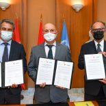 Monaco, l'Agence des Nations unies pour les Réfugiés et Bioforce s'engagent en faveur de la formation professionnelle des refugiés